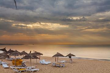 Тунис. Пляж.
