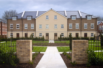 A modern style terrace town house property development
