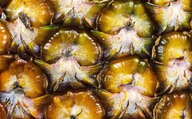Textura de casca de abacaxi.
