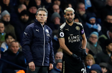 Premier League - Manchester City vs Leicester City