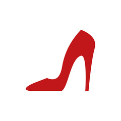 Red heels icon