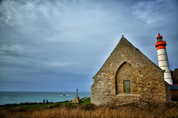 Saint Mathieu lighthouse, Brittany