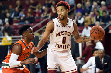 NCAA Basketball: Miami at Boston College