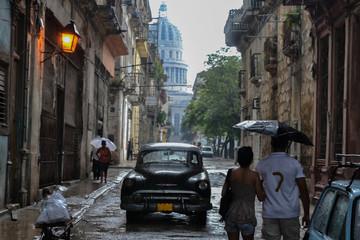 Paseando en La Habana