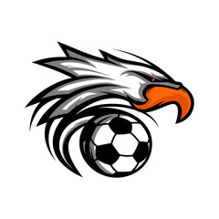 Eagle Football Ball Logo