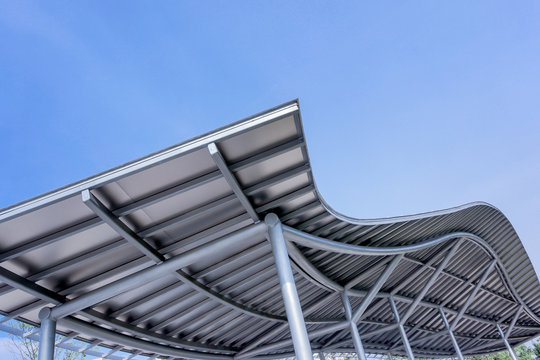 design metal roof structure