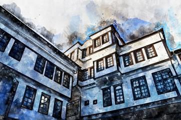 Ohrid, Macedonia, old town