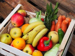 Gesunde Ernährung: Gemüsekiste