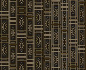 Dark Geometric Background, Vector Image