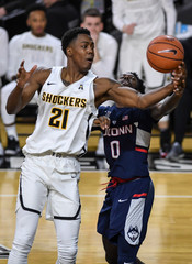 NCAA Basketball: Connecticut at Wichita State