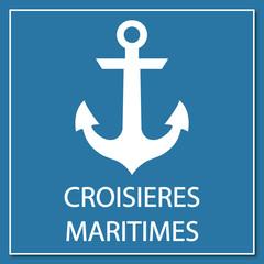 Logo croisières maritimes.
