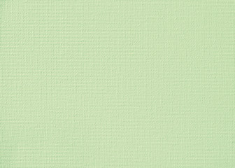 Canvas burlap fabric texture background for painting in lime green pastel color.