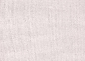 Canvas burlap natural fabric pattern texture background in light beige cream pale pink pastel color