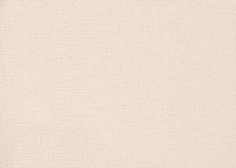 Beige canvas burlap fabric texture background for arts painting in light sepia cream brown