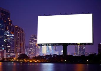 advertising or Blank billboard