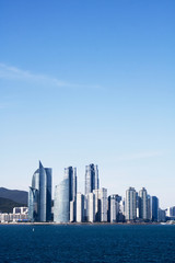 wonderful skyscraper in Busan, Korea