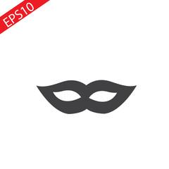 Carnival mask in black