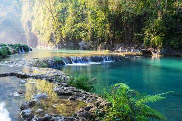 Papiers peints Riviere Pools in Guatemala