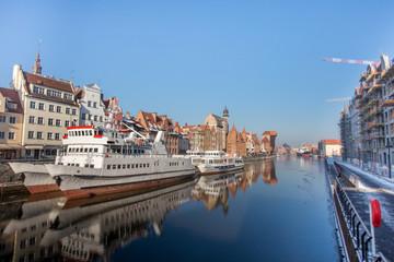 Stare Miasto Gdańsk zimą