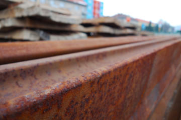Old rails and sleepers