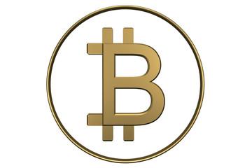 Golden Bitcoin icon