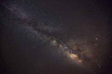 milky way galaxy and space dust in the universe, Night starry sky with stars