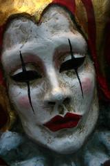 Clay Clown Mask