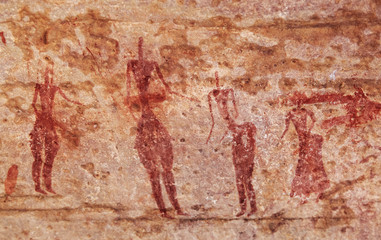 Rock paintings of Tassili N'Ajjer, Algeria