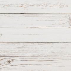 Photo sur Aluminium Bois White wood background