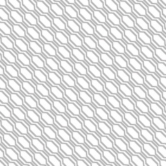 The geometric pattern with stripes. Seamless vector background. White and grey texture. Graphic modern pattern.