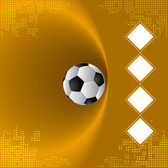 Football team background, Semi-final match team, Bronze background