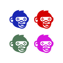 Game logo vector mascot design unique modern