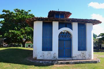 praça em Alcântara no Maranhão