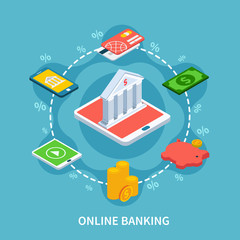 Isometric Banking Round Composition