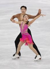 Olympics: Figure Skating-Team-Ice Dance Short Dance