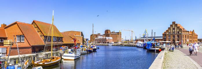 Wismar Hafen Fototapete