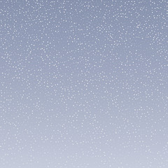 Modern winter background with snowflakes. Vector illustration