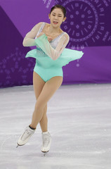 Olympics: Figure Skating-Team-Womens Short Program