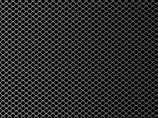 Wire mesh. Vector illustration on black background.