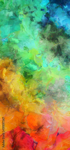 Bright Colorful Abstract Painting Stock Photo And Royalty Free Images On Fotolia