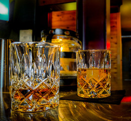 Whisky at the Bar
