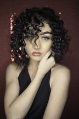 Young Brunette female portrait