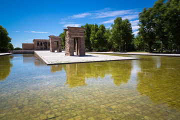 Temple of Debod, Madrid, Spain