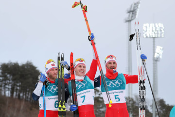 Olympics: Cross Country Skiing-Mens 2 x 15km Double Pursuit