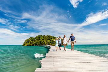Tropical island in Cambodia