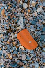 texture, river stones
