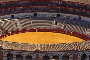Detail of Bullfighting Arena