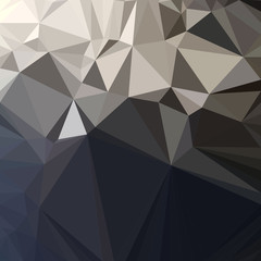 Abstract polygonal triangle background. Vector Polygon which consist of triangles. Geometric background in Origami style.