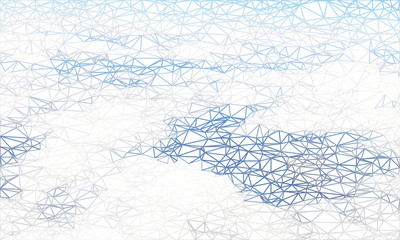 Wireframe polygonal abstract mesh. Vector background.  Geometric background in Origami style with gradient.