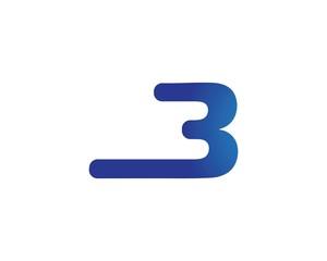 B Letter Logo Business